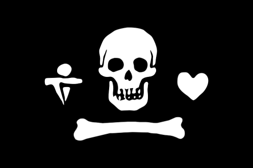 Pirate Flag of Stede Bonnet